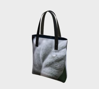 Rain drop petal tote preview