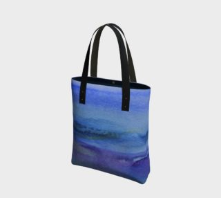 Westcoast Watercolour  Tote Bag preview