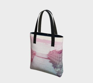 Pink Beach Tote Bag preview