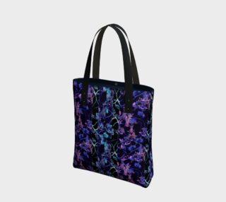 Dark Chinoiserie Vintage Floral CollageDark Chinoiserie Vintage Floral Collage Bag preview
