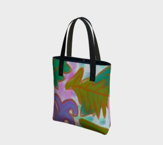 Leaves Abstract Art Shoulder Bag preview