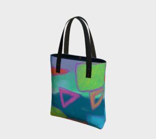 Aperçu de Original Abstract Art Shoulder Bag