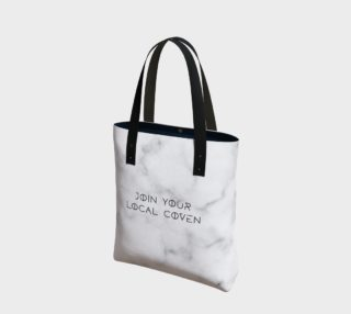 Aperçu de Join Your Local Coven Marble Tote