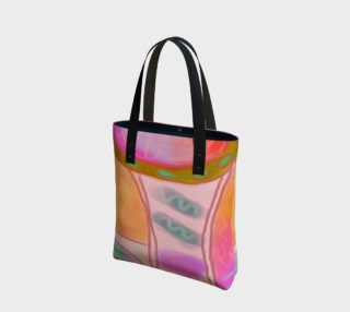 Original Abstract Art Tote Bag preview