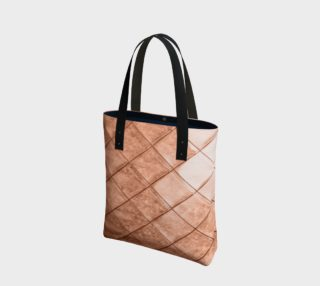 Rose Gold Crush Tote Bag preview