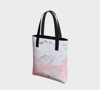 Marble Love Tote Bag preview
