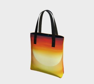 sunset tote preview