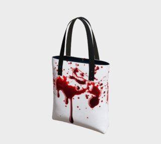 Blood Splatter three tote bag preview