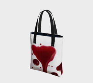 Blood Splatter four tote bag preview