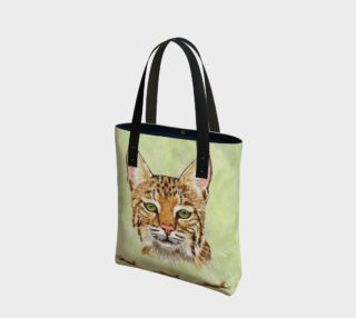Noel Bobcat - Tote Bag preview