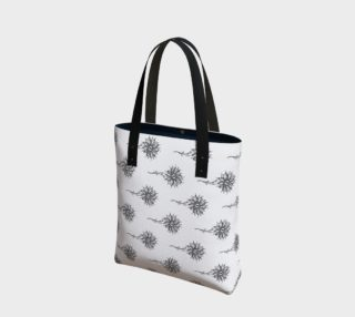 Hand Drawn Floral Pattern Bag preview