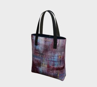 wine and denim tote preview