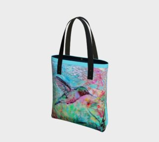 Bright Hummingbird Tote preview