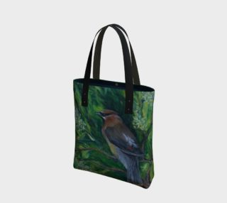 Cedar Waxwing Tote preview
