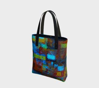 Bold Mosaic Tote Bag preview