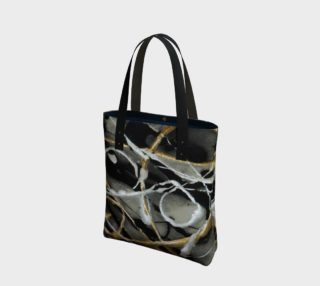 Silver and Gold Dusk Tote Bag preview