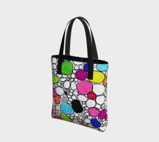 Colored Circles and  Other Shapes tote bag preview