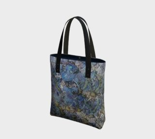Wave Shadows Ink #7 Tote Bag preview