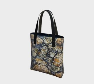 Bark Batik Ink #22 Tote Bag preview