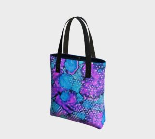 Violet Clouds Ink #24 Tote Bag preview