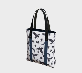 Ravens with Blue Stripe Tote preview