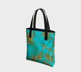 New King Turquoise Tote preview