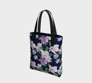 Magnolia Floral Frenzy Tote Bag preview