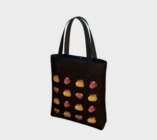 Pumpkin tote bag (yellow-brown) preview
