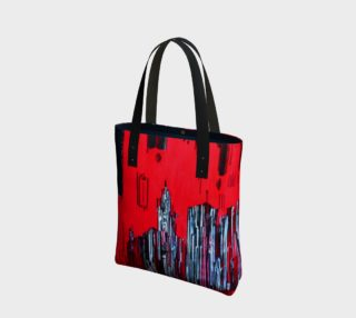 SAC - BAG MONTREAL CODE BARRE MELANIE BERNARD ART preview