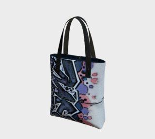 Train Grafitti #4 Tote Bag preview