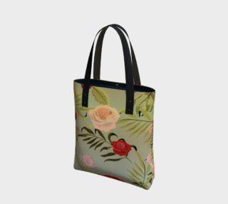 Vintage Floral Tote Bag preview