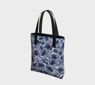 Aperçu de Indigo Blue Floral Tote