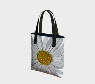 Aperçu de Single White Daisy Tote 160802