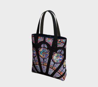 Rose South Window, Notre Dame Paris Tote Bag preview
