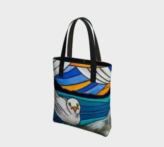 Aperçu de Seagull by the Sea Tote Bag