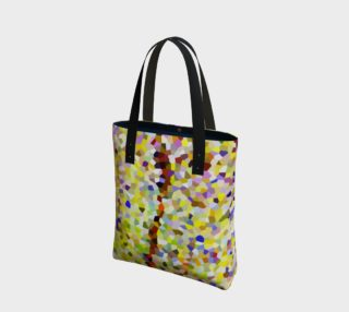 Yellow Line Mosaic Tote Bag preview