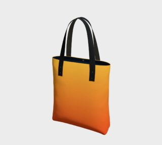 Fiery Sunset Tote Bag preview