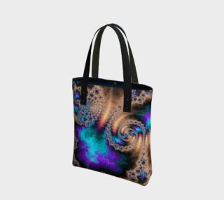 Electric Ocean Tote Bag preview