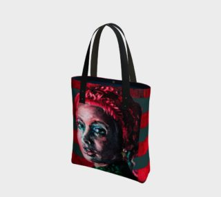 Girl With The Devin Earring Tote Bag preview