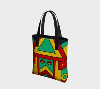 colorful aztec tribal preview