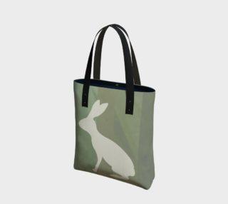 Aperçu de Green Rabbit Tote Bag 181223