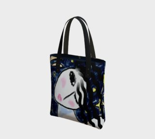 Stars Original Abstract Painting Shoulder Bag preview