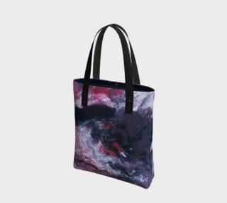 Alien Landscape Tote Bag preview