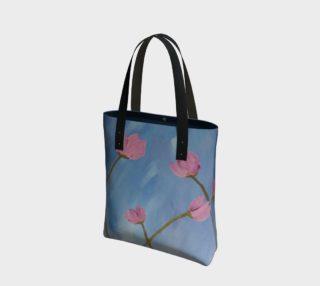 Lueur de Fleur Rose Tote Bag preview