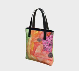 Giant Orange Poppy Tote Bag preview