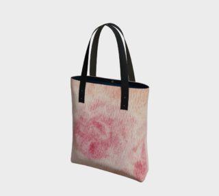 Peach Rose Tote Bag preview