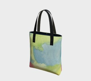 Flowers in Stained Glass Tote Bag preview