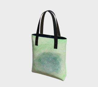Green Dimension Flower Tote Bag preview