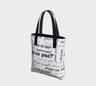 N'est-ce Pas Tote Bag preview