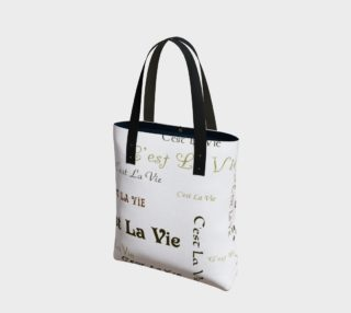 C'est la Vie Tote Bag preview